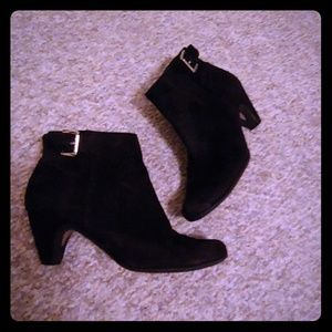 Sam Edelman suade ankle boots